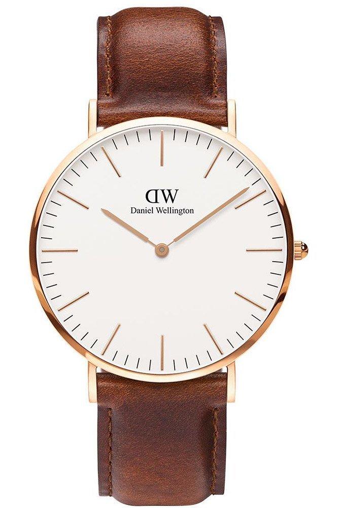 Daniel Wellington – Reloj de cuarzo para hombre, esfera analógica,