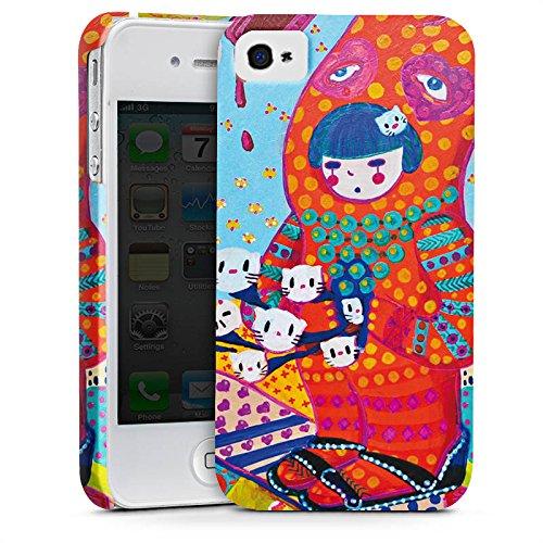 Apple iPhone X Silikon Hülle Case Schutzhülle Hase Süßigkeiten Mädchen Premium Case glänzend