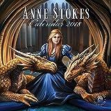 Anne Stokes Square Calendar 2018