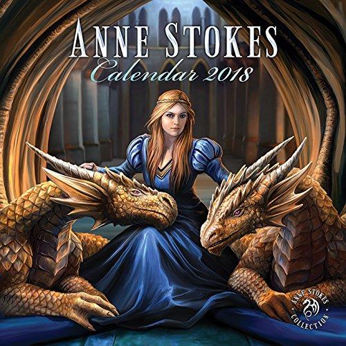 2018 Anne Stokes Official Calendar