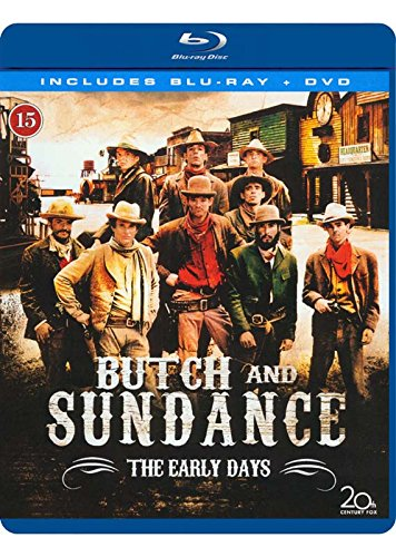 Butch und Sundance - Die frühen Jahre / Butch and Sundance: The Early Days ( ) (Blu-Ray & DVD Combo) [ Dänische Import ] (Blu-R