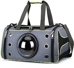 Roblue Hunde Katzen Transporttasche für Kleine Tasche Raumkapsel Atmungsaktiv Transportbox Umhänge Tragetasche