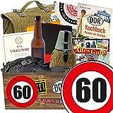 60. Geburtstag | männergeschenke 60 | GRATIS DDR Kochbuch | NVA Box