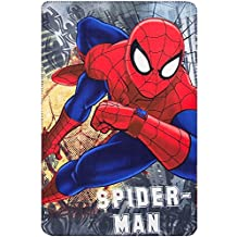 GUIZMAX Manta Polar Spiderman Cobertura Silla niño Disney Reloj