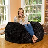 Bean Bag Black cushion cover without beans