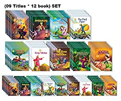 AADARSH - Fairy Tales (Retail Pack) (Set of 108 Books) Books Bundle