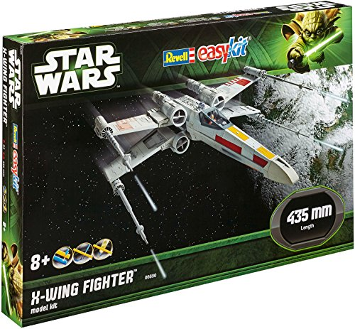REVELL - MAQUETA EASYKIT STAR WARS X-WING FIGHTER  ESCALA 1:29 (06690)