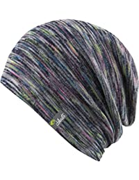 Chillouts Freetown Hat 4488 FRT 03 - bunt - Summer Slouch Beanie - Long Beanie - Neu - Frühling Sommer