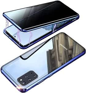 Colicoli Für Samsung Galaxy S20 S20 Plus Hülle 360 Grad Panzerglas Sichtschutz Magnetisch Stoßfest Handyhülle Durchsichtig