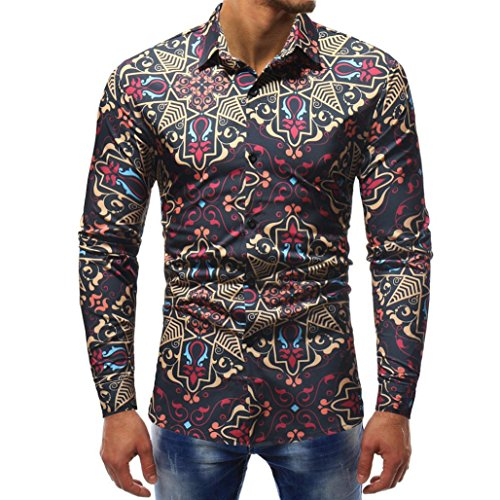 Jaminy Herren Langarm Shirt Longsleeve Slim Fit T-Shirt Männer Sweatshirt  Herren Polohemd Langarmshirt Sweatshirt b8fed2b5b7