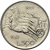 Italia 500 lire Argento