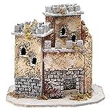 Schloss für Krippe 20x22x20cm neapolitanische Krippe