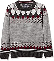 Cherokee Boys Sweater (268014833_GREY-MEL_02Y_FS)