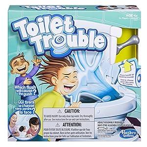 Hasbro C0447092 Toilet Trouble Board Game