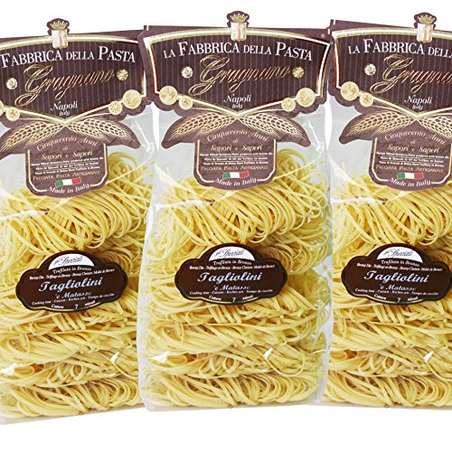 Original italienische Pasta Tagliolini di Gragnano IGP Angebot 3X500g