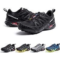 Scarpe da Trail Uomo Donna Running Impermeabili Trekking Scarpe Corsa Ginnastica Esterno Antiscivolo Comode Unisex Nero…