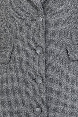 Mantel zero blau
