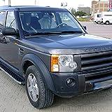 Trittbretter für Land Rover Discovery 3 Bj 04 - 09 mit TÜV/ABE Bescheinigung (aus Aluminium) | Sidestep Seitenschweller Trittleisten