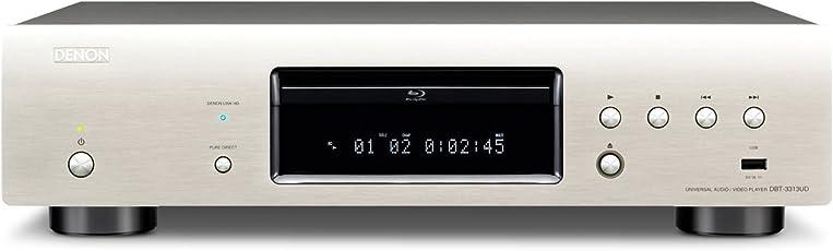 Denon DBT-3313UD High End 3D Universal Blu-ray-Player (DivX-HD, SACD, 2x HDMI, USB, Netflix) premium silber
