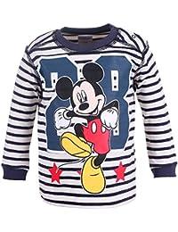 DISNEY Niños Mickey Mouse Camisa, azul