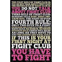MoviePostersDirect - Póster (61cm x 91,5 cm), diseño de El club de la lucha