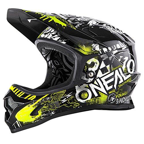 O'Neal Oneal 0500–004Fahrrad Helm, schwarz, L