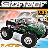 2.4 GHz Ferngesteuerter Monstertruck Offroad 4WD HBX Bonzer RTR RC Auto AU1 (grün)