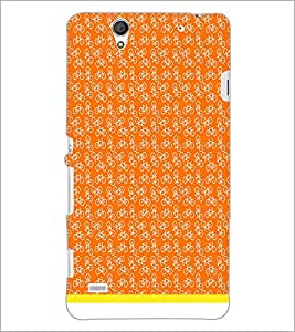 PrintDhaba Cycle Pattern D-1483 Back Case Cover for SONY XPERIA C4 (Multi-Coloured)