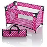 Molly Dolly - Box lettino per bambole con borsa