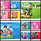 Shopkooky Printed Foldable Dinner Placemats / Table-mats For Kids With Lifelong Non Fading Print Design / Birthday Return Gift For Kids (Pack Of 2)