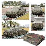 Qiman Auto Abdeckung, wasserdichte Camouflage Autoplanen Outdoor Sonnenschutz Staub Regen Schnee voll