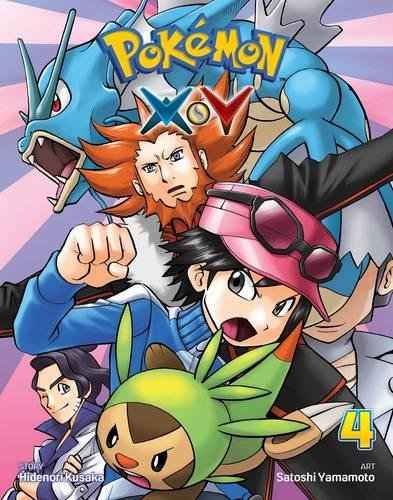Pokemon X-Y, Vol. 4