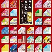 Toyo Reversible washifu Origami Chiyogami, ryoumen Chiyogami zukushi 15cm x 15cm (018060)