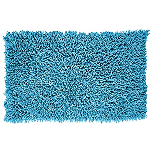 export-trading-eden-alfombra-con-diseno-shagy-color-celeste-70-x-50-cm