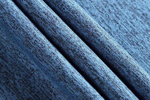 Jeansian Herren Sportswear Quick Dry Short Sleeve T-Shirt LSL182 LSL206_Blue