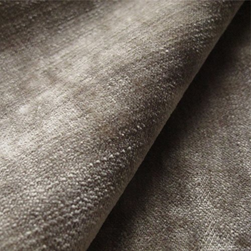 Tabley 'Biscotti Tinta Unita': Beige Velluto tappezzeria divano cuscino ritardante di fiamma tessuto tessuti Loome, Tabley 'Biscuit Plain' : Beige, 10 x 14 cm sample