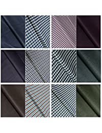 Kundan Sulz Gwalior Men's Executive Shirts And Fancy Formal Trouser Fabric Combo Set - (Set Of 24 Pant And Shirt...
