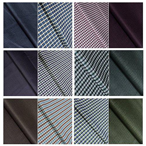 KUNDAN SULZ GWALIOR Men's Shirt and Trouser Fabric Combo - Assorted