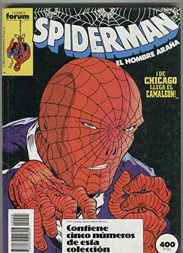 Spiderman volumen 1 retapado 201 al 205