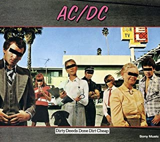 Dirty Deeds Done Dirt Cheap - Edition digipack remasteriséé (inclus lien interactif vers le site AC/DC) by AC/DC (B00008AJL4)   Amazon Products