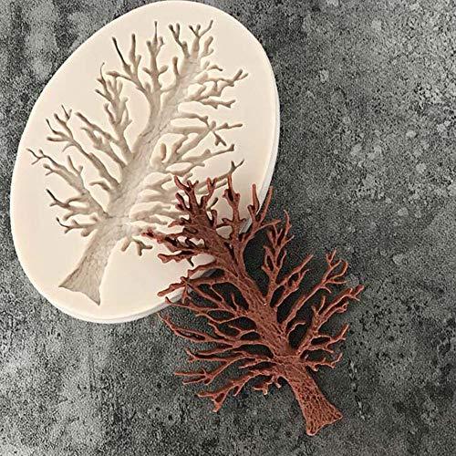 Euone Kuchenform 3D Baum Silikon Fondant Form Kuchen Dekorieren Schokolade Zuckerguss Backform