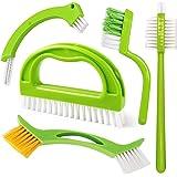 Set de 5 cepillos para Limpieza de Juntas y Azulejos,Cepillo para Juntas de Cocina y hogar, baño y Cocina y Limpieza de Azule