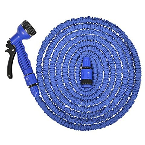 Garden Hose,Strongest,Hose,Water Hose,Expandable Hose,Best Hoses,Expandable Garden Hose,with Free 8-way Spray Nozzle,Rust-free,Watering Hose,Flexible Hose (100ft,