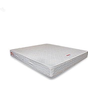 Coirfit Health Spa 8-inch Queen Size Memory Foam Mattress (Off-White, 75x70x8)