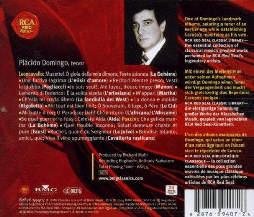 Domingo chante Caruso (Coll. Classical Library)