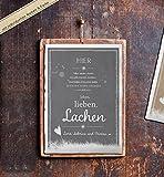 Personalisiertes Poster mit Euren Namen für Hochzeit und Familien,