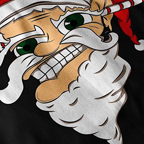 Zu Ende noch Weihnachtsmann Weihnachten Böse Weihnachtsmann Damen S-2XL Muskelshirt | Wellcoda Schwarz