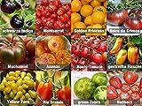 Tomaten-Mix/Samen-Set 12 x 10 Samen 100% Natursamen aus Portugal seltene Sorten mit sehr hoher Keimrate Bullenherz Noiree de Crimee Cocktail-Tomaten