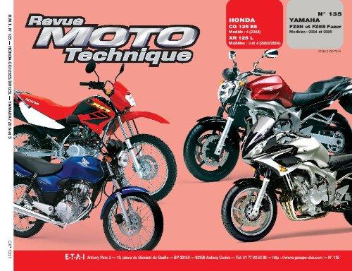 Rmt 135.1 Honda Cg125 Xr 125l Yamaha Fz6n Fz6s Fazer