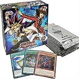 SYYSYY yu-gi-oh! -Struttura Mazzo-Carte da Gioco Gioco Classico Carte Inglesi Carte da Collezione Carte con Flash Card e Giocattoli di Metallo Scatola di Latta 3 Confezioni da 30 Fogli